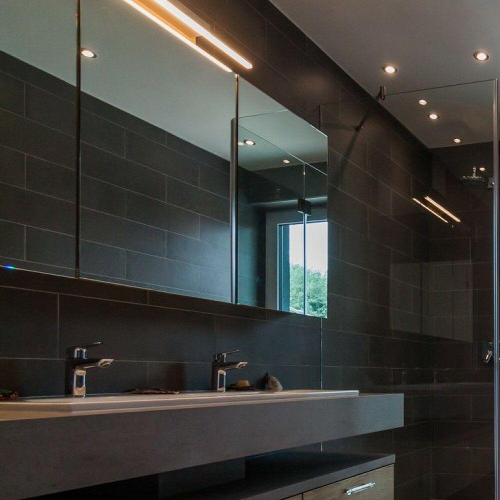 Modern fürdőszobai tükör megvilágító lámpa