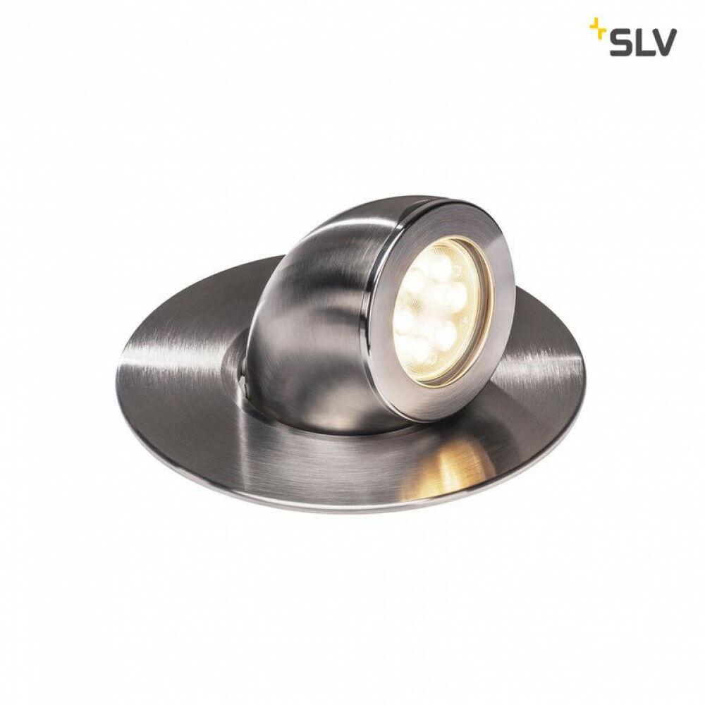 GIMBLE OUT acél LED talajba süllyeszthető kültéri lámpa állítható