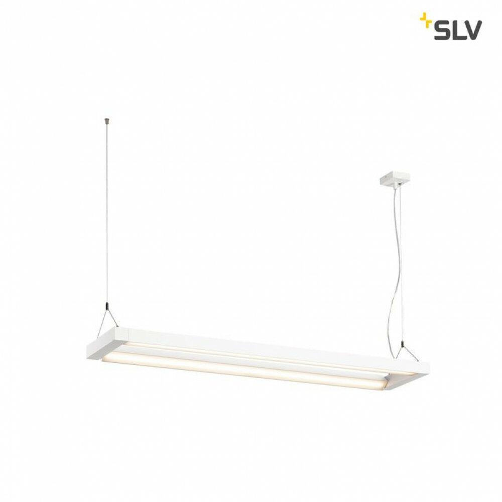 LONG GRILL fehér LED függeszték dupla
