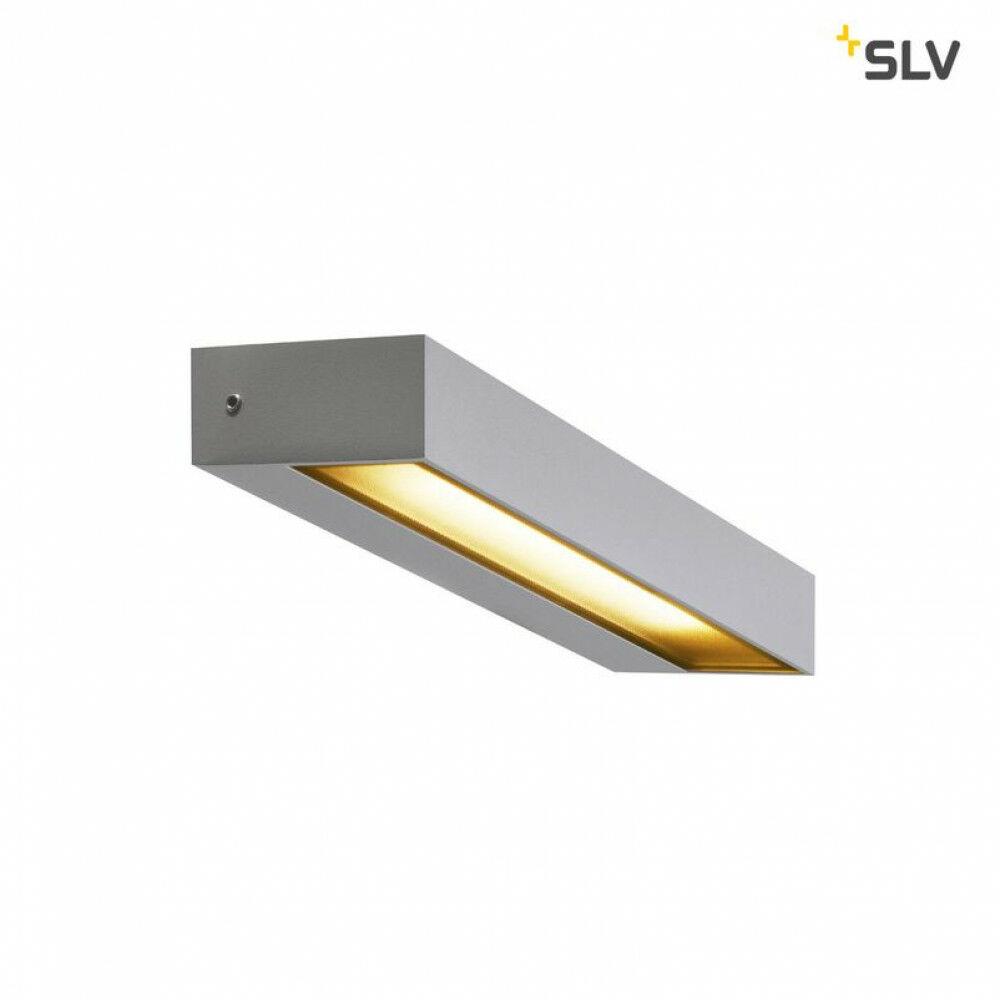 PEMA ezüst LED szögletes kültéri fali lámpa