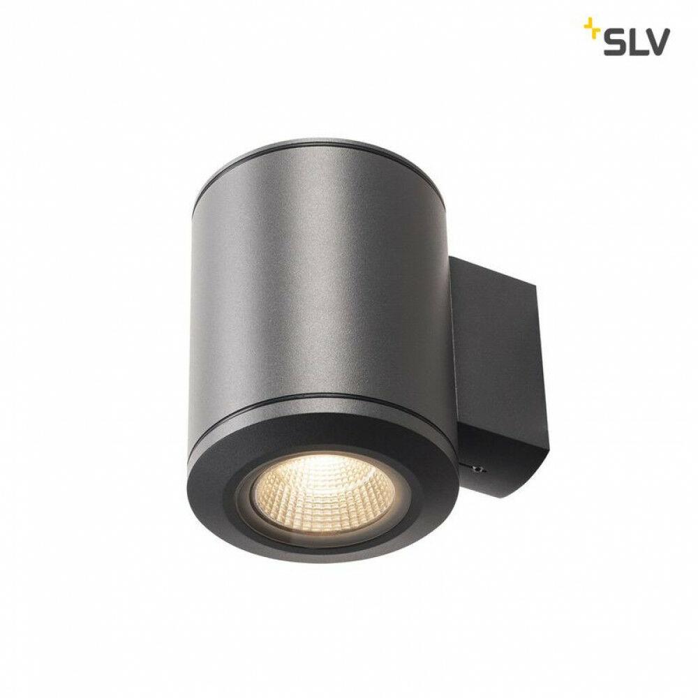 POLE PARC antracit LED kültéri fali lámpa