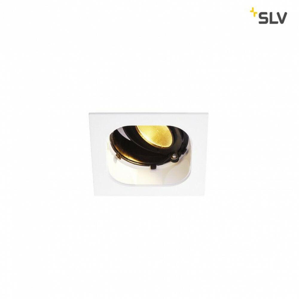 Renisto 10 fehér LED szögletes beépíthető spot lámpa