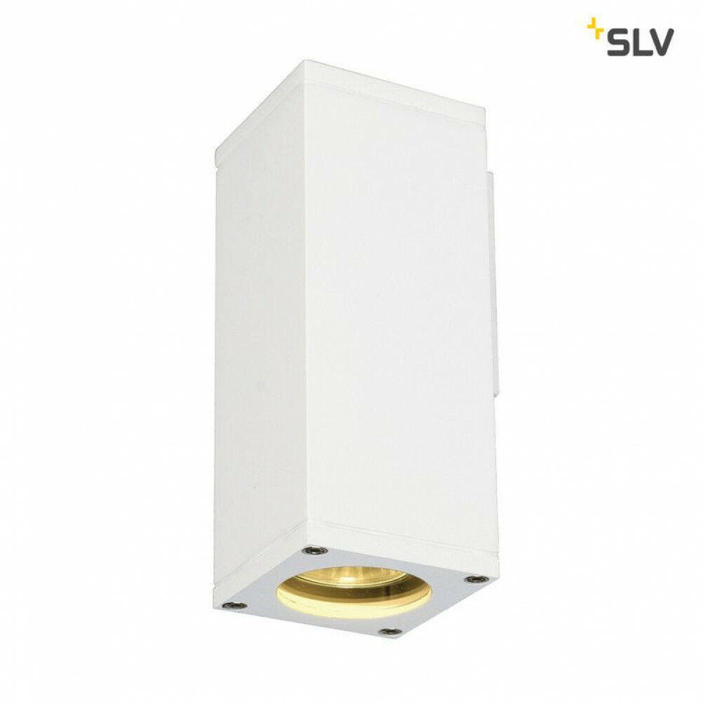 THEO fehér QPAR51 kültéri fali lámpa