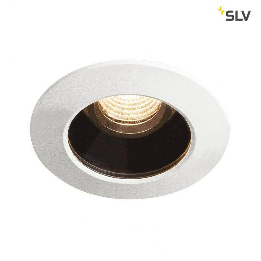 Varu fekete-fehér LED beépíthető spot lámpa IP65