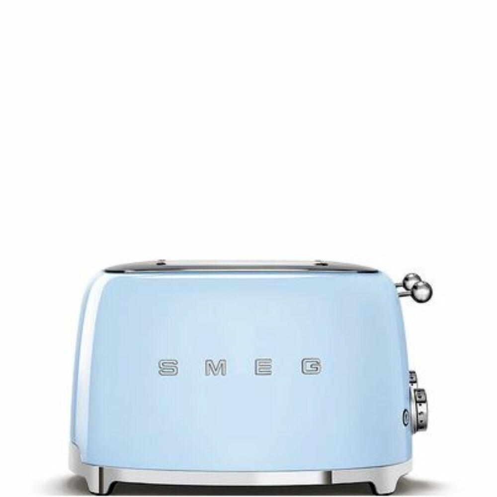 50'S style retro pasztell kék 4 x 1 szeletes kenyérpirító